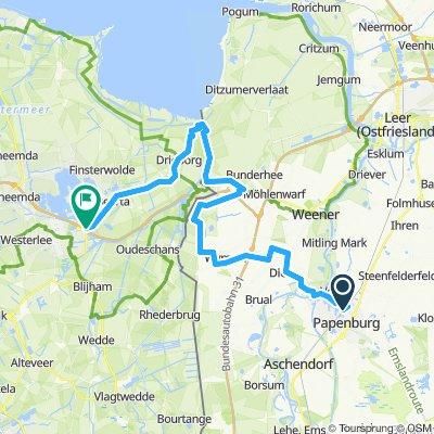 Dollardtour3, Papenburg-Winschoten