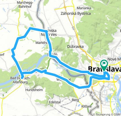 BikeBratislava - Schlosshof (Austria) - Hainburg (Austria) and back