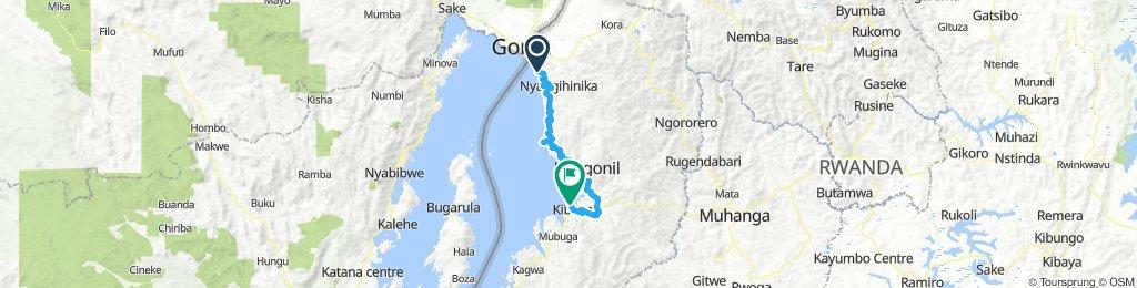 Congo Nile (Gisenyi to Kibuye)