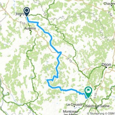 Tour de Bourgogne: Migenne- Santenay