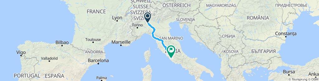 Milano - Greve - Roma