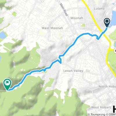 Lutana to Lenah valley
