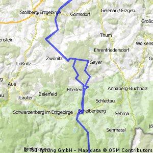 Chemnitz - Fichtelberg - Chemnitz
