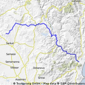 Sardinien Sued, Etappe 2