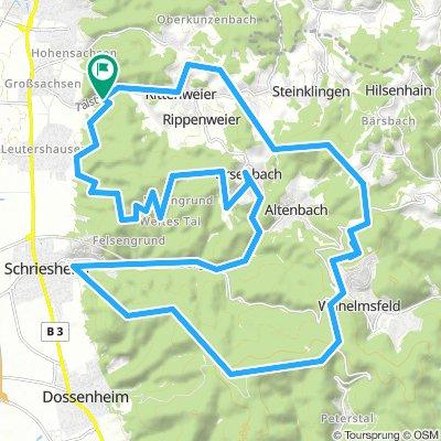 18 05 2018 - Mountainbike 69493 Hirschberg