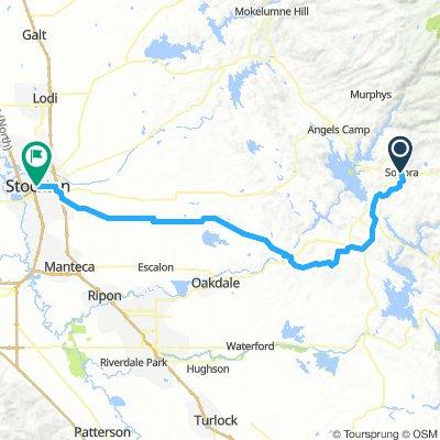 Sonora to Stockton