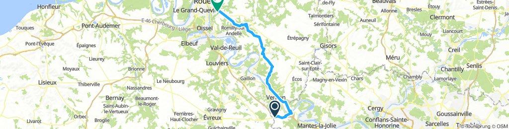 Day #2. Chaufour > Franqueville