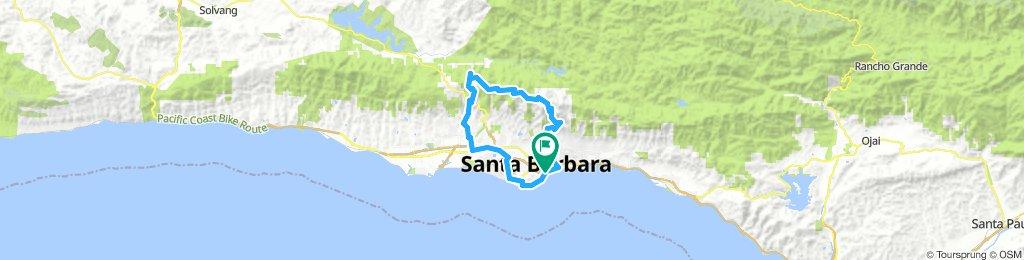 Gibraltar Santa Barbara 60km loop