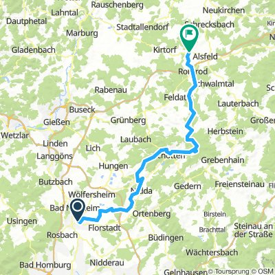 Friedberg-Angenrod - Rennrad