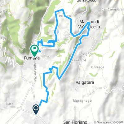 Da San Pietro a Purano via Cantina Filippini