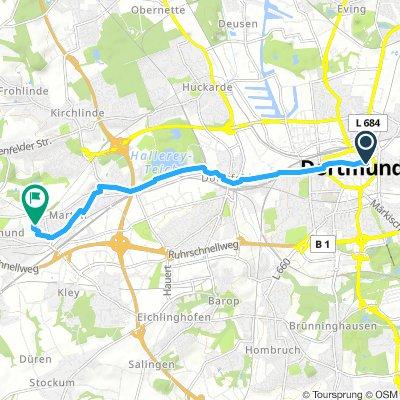 Moderate Samstag Track In Dortmund