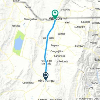 Abra Pampa - La Quiaca 02.05.2018