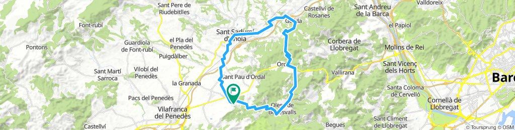 Avinyonet-Olesa-Gelida-Sant Sadurni-Avinyonet