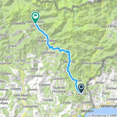Day 11: Saint-Antonin/Castillon  - Col de Turini - Saint-Martin-Vesubie