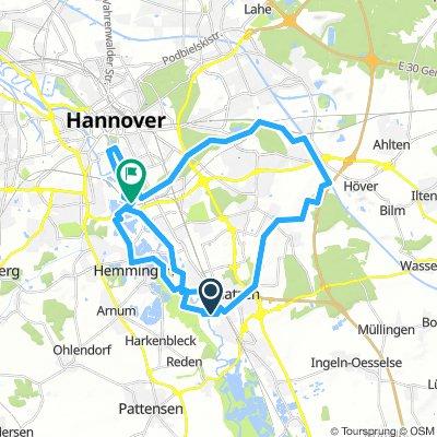 Laatzen-Hemmingen-Maschsee-Laatzen