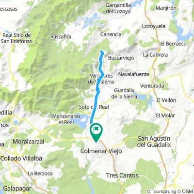 Colmenar - Puerto de Canencia - colmenar