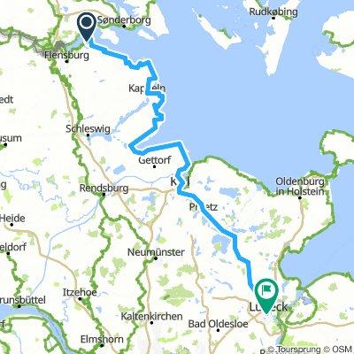 Etappe 3: Ostseeküste und Plön