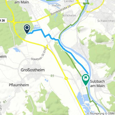 Lengthy Sonntag Route In Großostheim