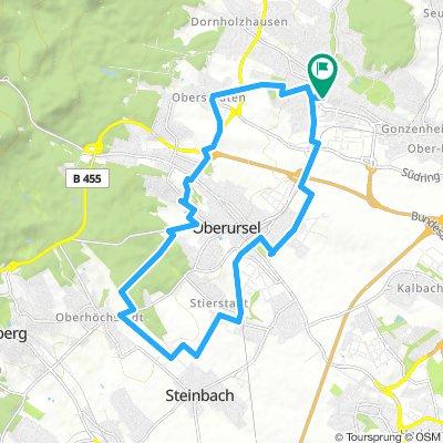 Kleine Runde nach Stierstadt