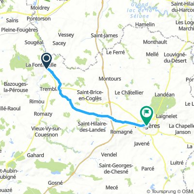 antrain to fougeres