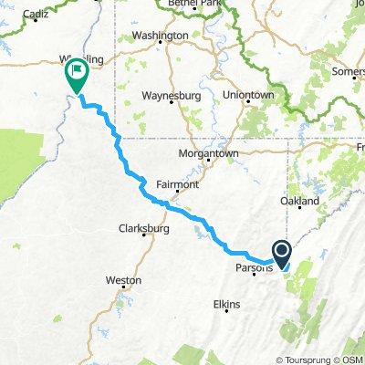 Bfalls to Moundsville