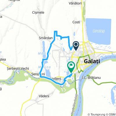 Galati-Filesti-Smardan-Halda de zgura-Sendreni-Dig Siret-Barbosi-Galati