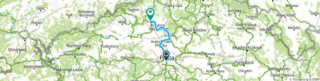 2016 Elbradweg E01 Prag - Litomerice