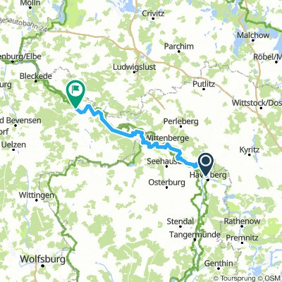 2016 Elbradweg E07 Havelberg - Hitzacker