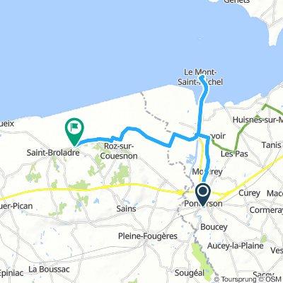 DAY 3 - Pontorson - Saint-Marcan