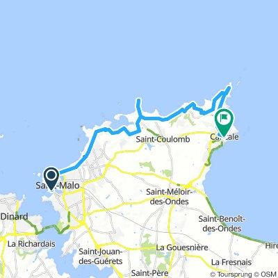 Alternative Saint-Malo to Cancale