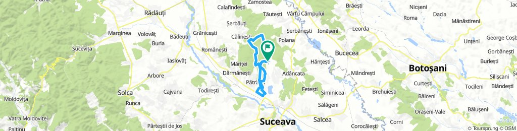 Tura Scurtă - MTB Dragomirna 2019
