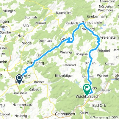 Vulkanradweg + Südbahnradweg