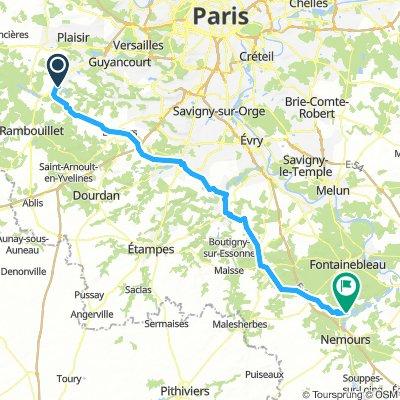 Levis-Saint-Nom to Font camping
