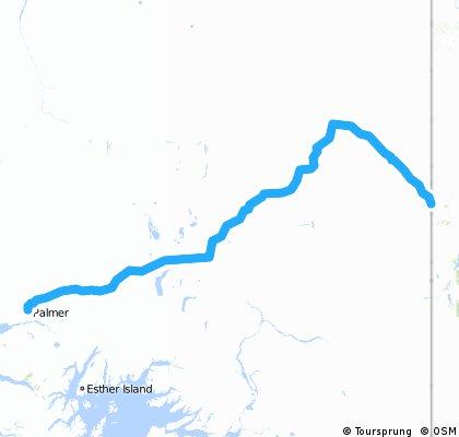 2 Palmer - kanadische Grenze