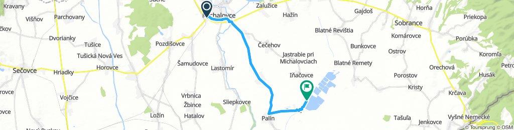 Michalovce - Senné (rybníky)