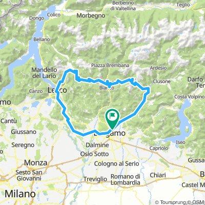 Lecco Culmine di San Pietro Zambla Alta Bg