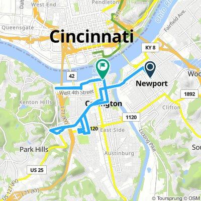 Ride the Cov - Distance Route
