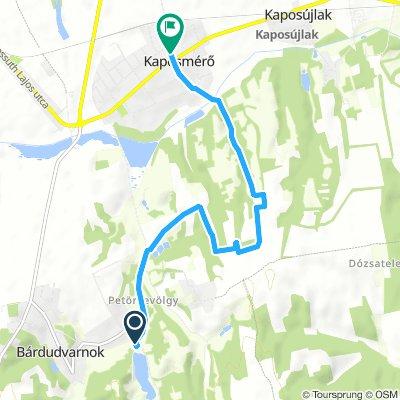 Slow Szerda Route In Bárdudvarnok