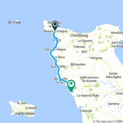 Beaumont-Hague to Portbail