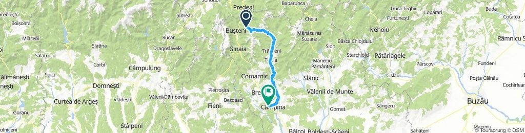 Azuga gondola - Lacul Orjogoaia - Traisteni - Lacul Paltinu - Campina