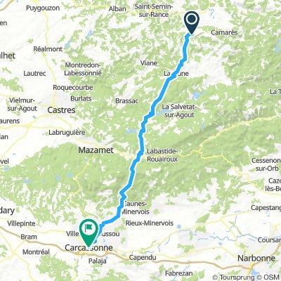 Tappa 8 Belmont sur Rance - Carcassonne