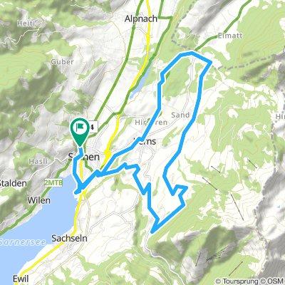 Feierabendrunde Sarnen-StNiklausen-StJakob-Sarnen