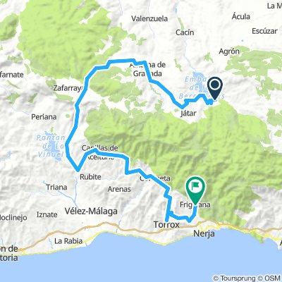 Sierra Nevada Etappe 4