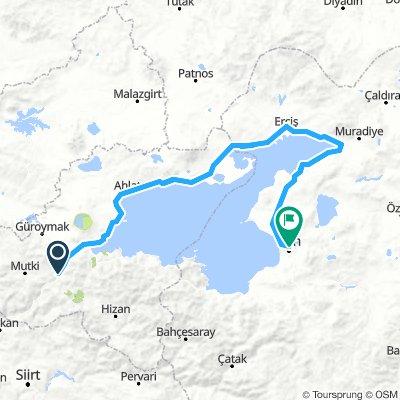 Bitlis - Van (tour du lac)