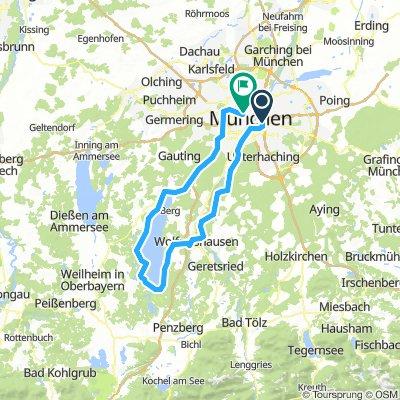 München Starnberger See Runde