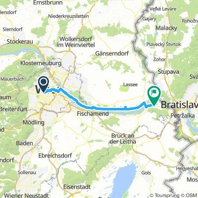 Day 12 Vienna - Hainburg