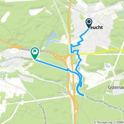 Über Fischbach und Feucht zum Brückkanal und zurück (Teil 2)