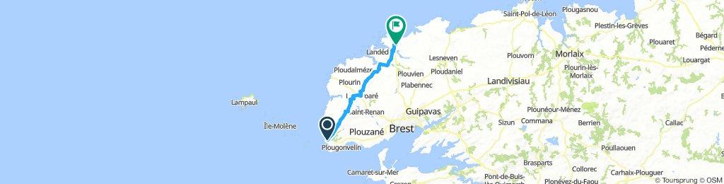 Le Conquet nach Plouguernau
