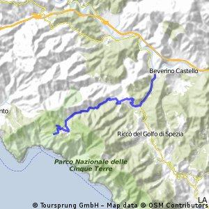 Beverino - Passo Termine