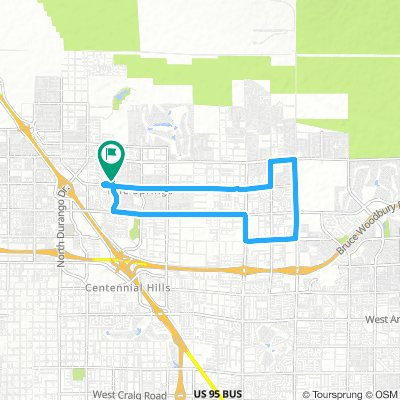 Cycling routes and bike maps in and around North Las Vegas | Bikemap on las vegas freeway map, las vegas walking map, las vegas hotel map printable,